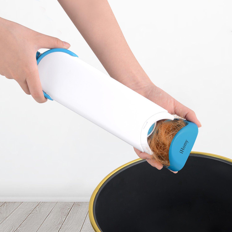 test accessoire chien brosse anti-poil ihomy