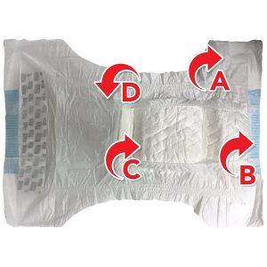 test accessoire chien couche jetable simple solution